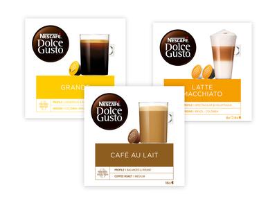 3 pakken Nescafé Dolce Gusto cups voor € 9,99 @Hoogvliet
