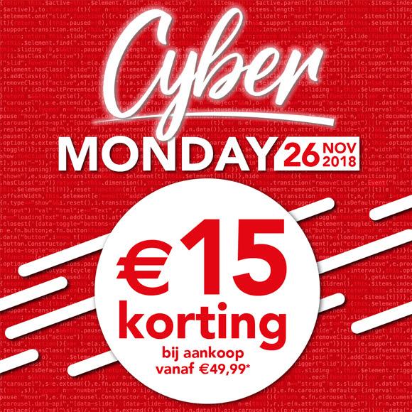 [Cyber Monday] €15 korting bij een minimale besteding van €49,99  + Tijdelijk gratis verzending @ Bristol