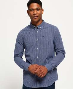 Superdry London Buttondown overhemden voor €13,99 @ Superdry