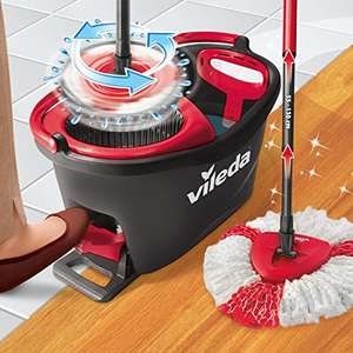 Vileda Turbo EasyWring & Clean Complete schoonmaakset