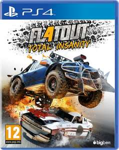FlatOut 4: Total Insanity (PS4) voor €7,99 @ PSN