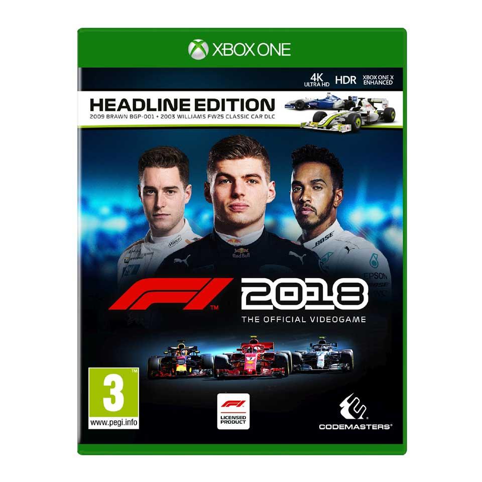 F1 2018 Headline Edition (Xbox One) voor €24,99 (PS4 - €26,99) @ Intertoys