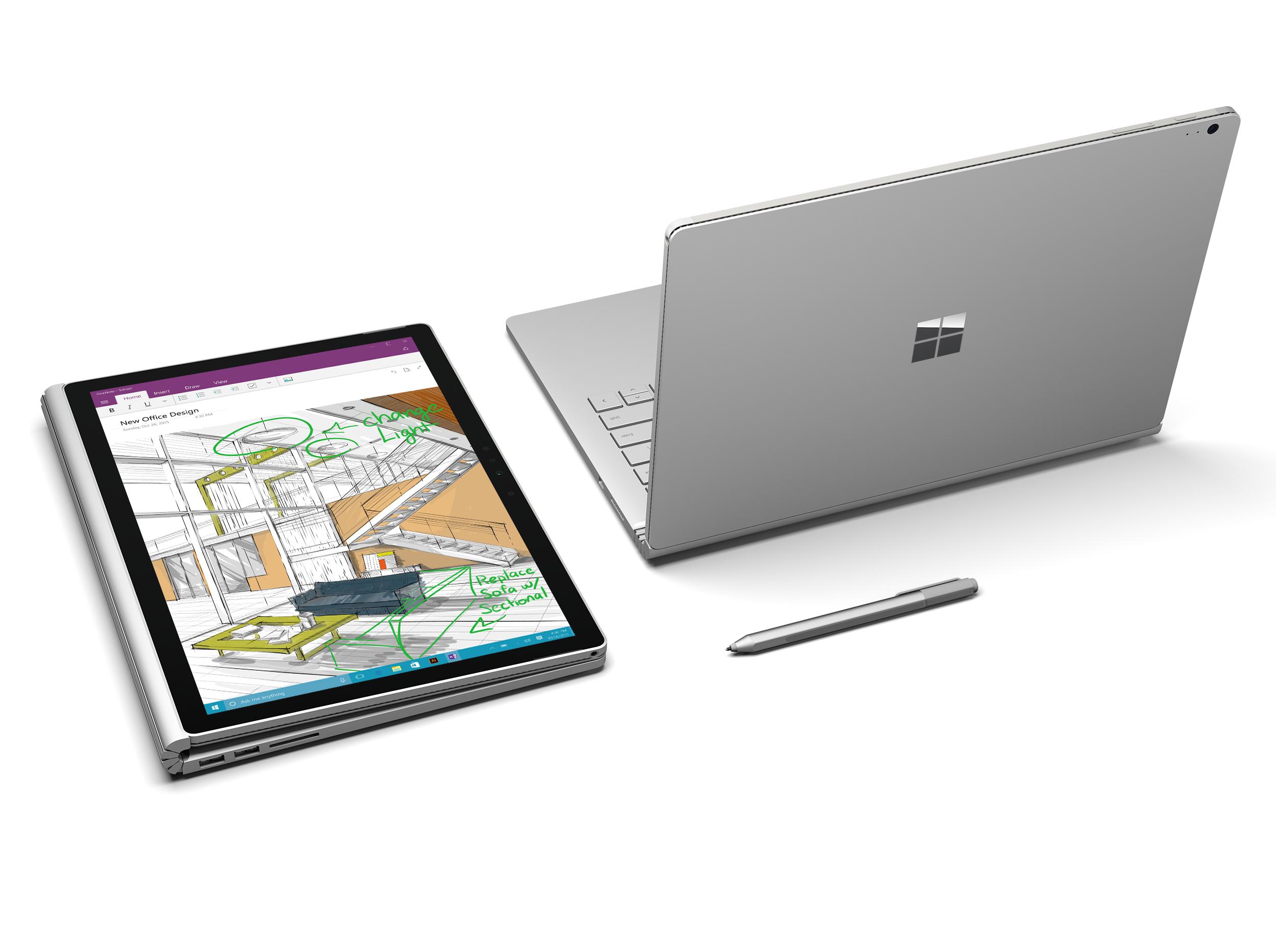 Microsoft Surface Book Core I5 - 8GB - 256GB - Qwerty - Windows Pro [Cyber Monday]