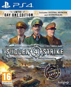 Sudden Strike 4: Limited Day One Edition (PS4) voor €12,50 @ Coolshop