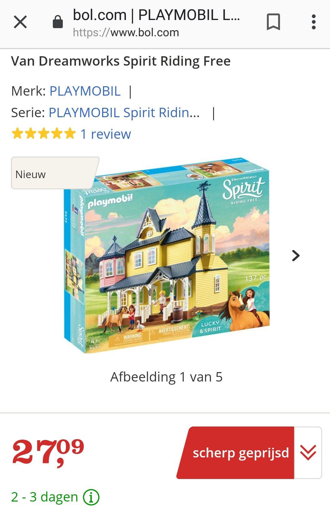 Playmobil Lucky's huis