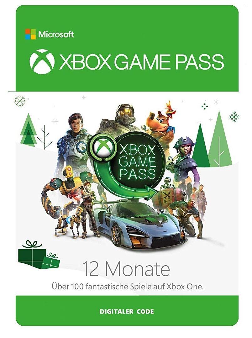 Xbox Game Pass 12 maanden