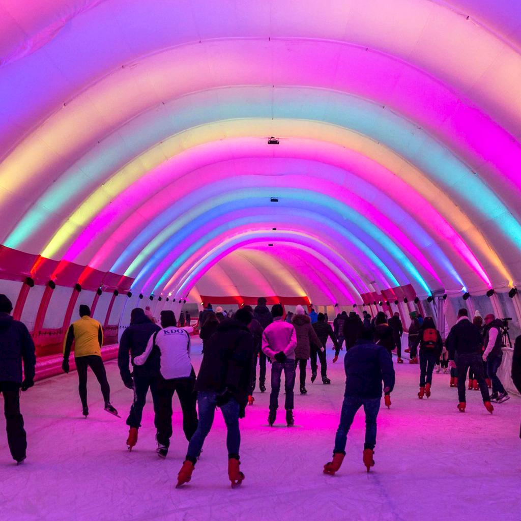 Op 1 december gratis schaatsen @ Schaatsbaan Rotterdam