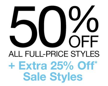 Actie: 50% korting op nieuwe collectie + 25% extra op sale @ GAP