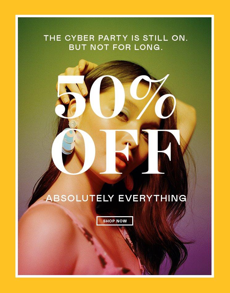 50% korting op alles @ Nastygal.com