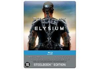 Elysium (steelbook) (Blu-ray) voor € 9,99 @ Media Markt / Saturn