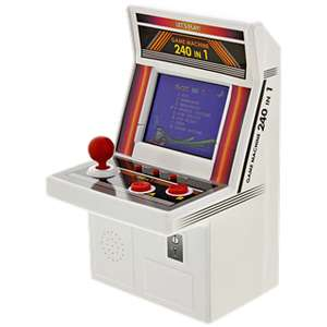 Mini Arcade speelautomaat 240-in-1 @ Action