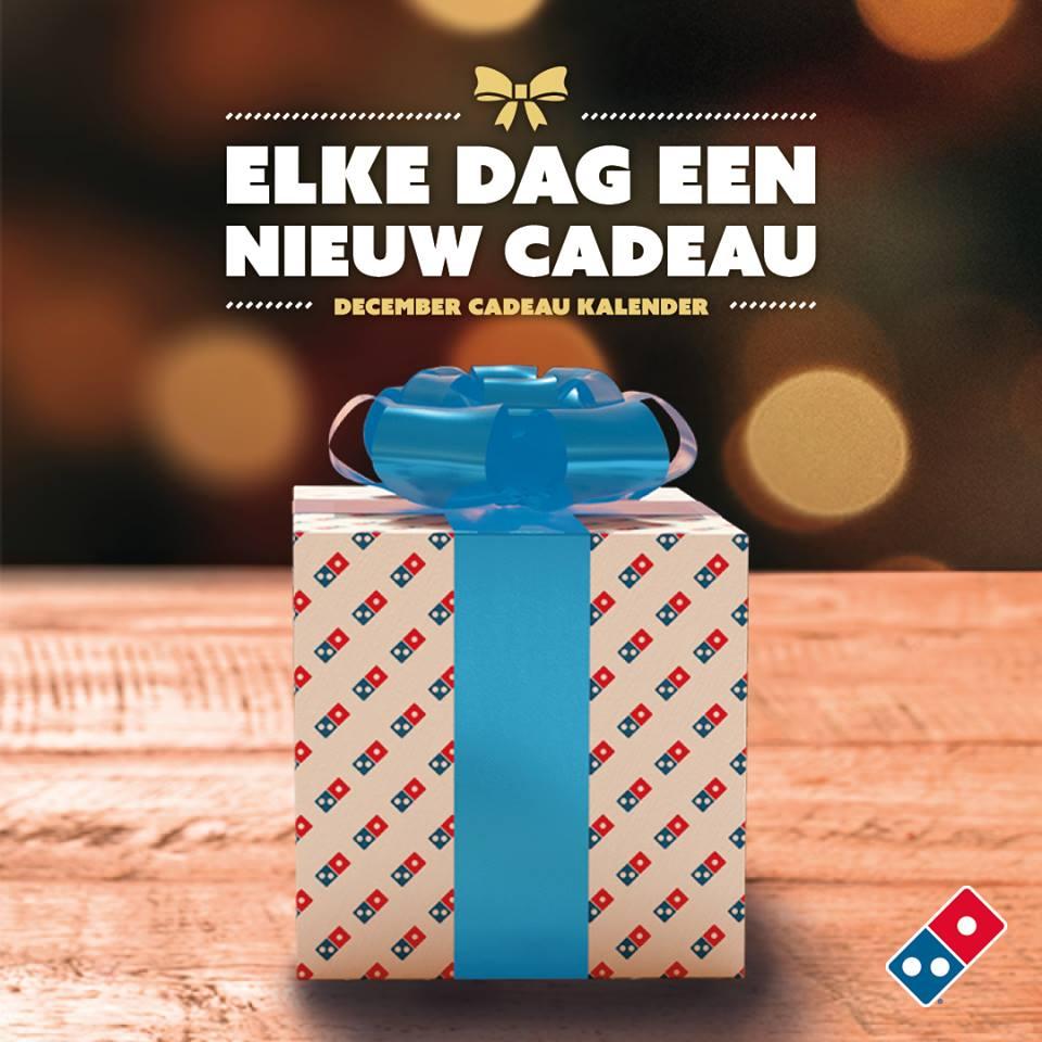 Acties van Domino's December Cadeau Kalender  (?)