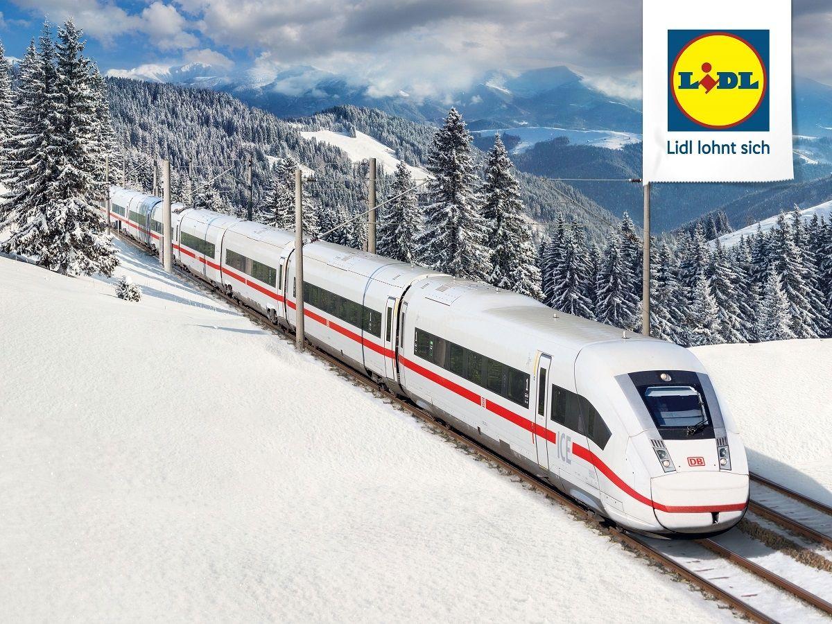 LIDL-Ticket: 2 enkele reizen (ICE, IC/EC) in Duitsland voor €54,90 met Deutschen Bahn + €10 tegoedbon