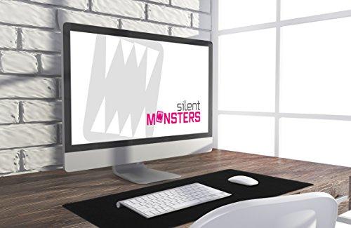 Silent Monsters Muismat (90 x 40 cm size: XXL) € 9.60 of L (44x  35 cm x 2 mm, size: L) € 7.72