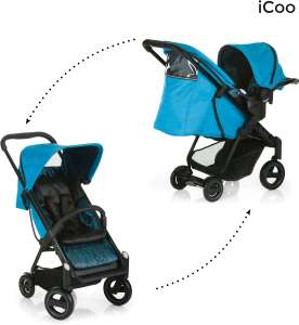 iCoo Acrobat Shop'n Drive Fishbone kinderwagen voor €130,74  @ Amazon.it
