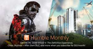 Humble Monthly December: $12 voor Cities Skylines, Metal Gear Solid V en meer op 7 december!