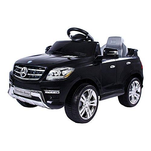 Mercedes-Benz ML voor je kleintje, met 2 motoren en MP3 speler.