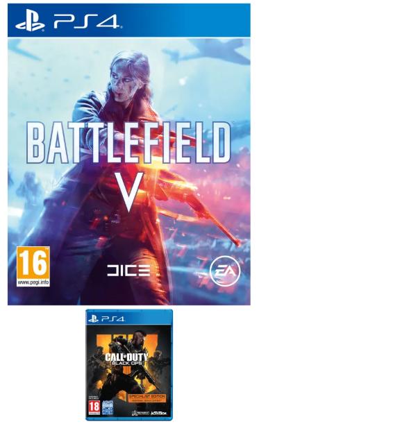 UK: Battlefield 5 & Black Ops 4 (Meerdere combi's mogelijk)