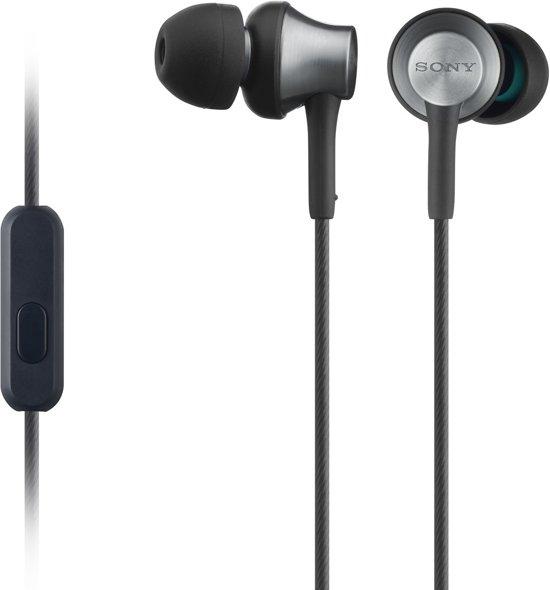 Sony MDR-EX650AP - In-ear oordopjes - Zwart voor €39,99 @ Bol.com