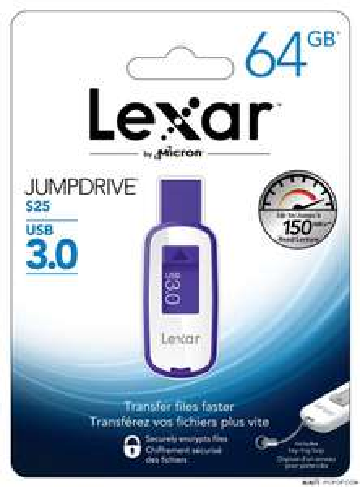 Lexar Jumpdrive S25 64GB voor €19,53 @ MyMemory