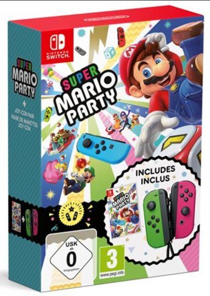 Super Mario Party + Joy-Con Pair Green/Pink