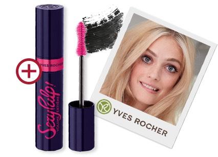 Gratis Yves Rocher Mascara t.w.v. € 17,90 en € 5,- Korting bij een min.besteding van €20