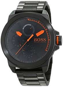 Hugo Boss Orange New York quartz heren horloge met roestvrij stalen armband 1513157