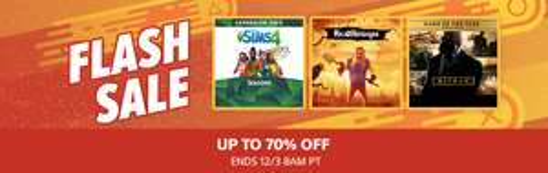 Flash Sale @ PSN US