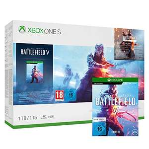 Xbox One S Pack 1TB + Battlefield V @Amazon.fr