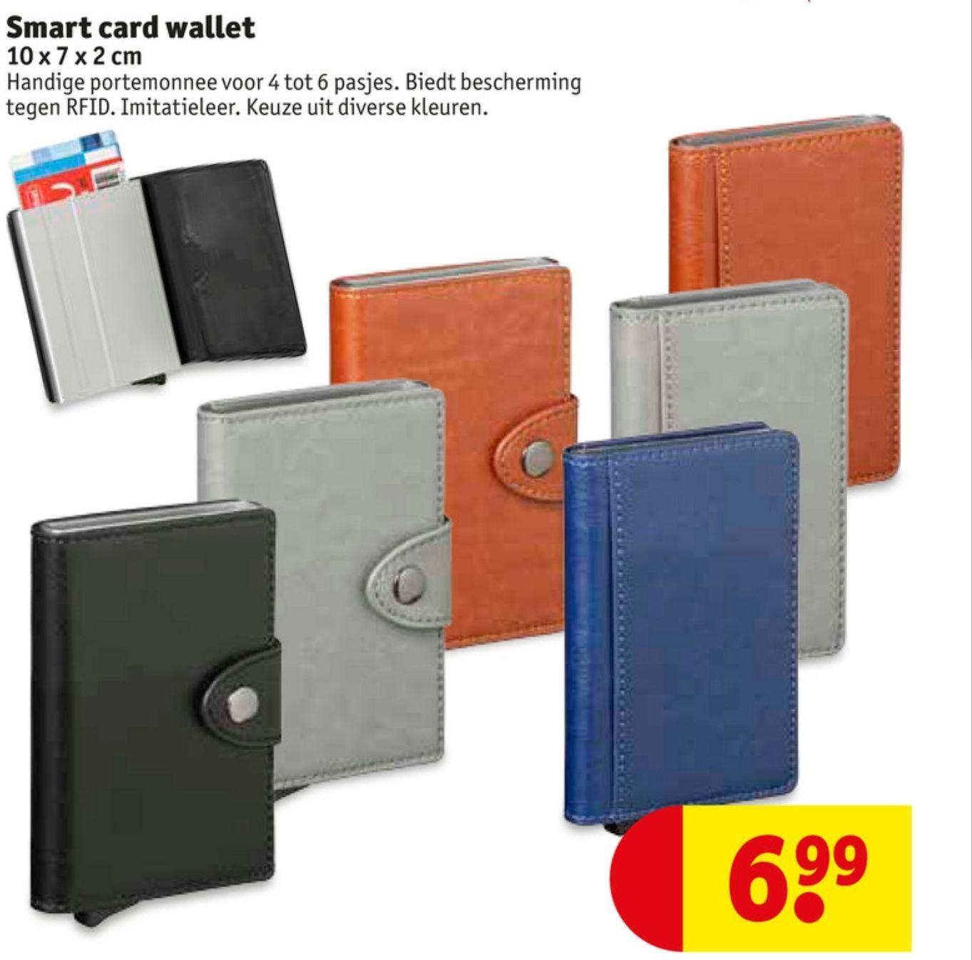 Smart card wallet (kruitvat)