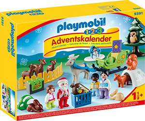 Playmobil Adventskalender 'Kerstmis in het 1.2.3 dierenbos' @Amazon