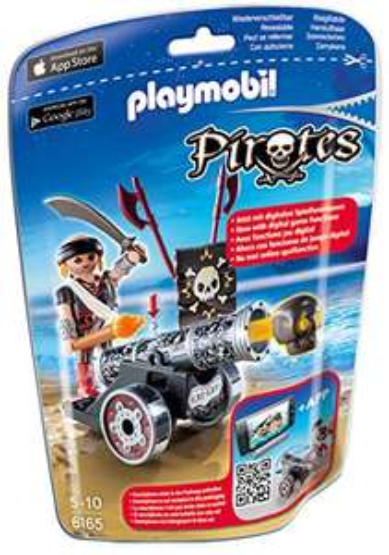 [Plus-product] Playmobil Piraat met zwart kanon - 6165 @Amazon