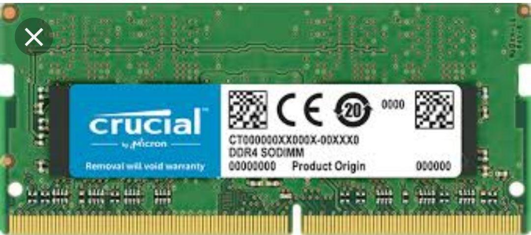 Crucial 8Gb ram(SO DIMM)voor € 48,60