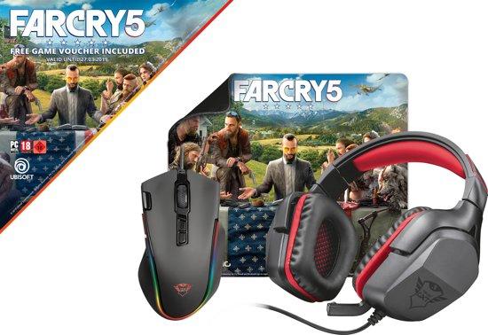 Trust Gaming Bundel - Headset, Muis, Muismat en Far Cry 5 PC voor €77 @ Bol.com
