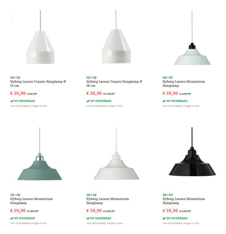Dyberg Larsen hanglampen -70% @ fonQ