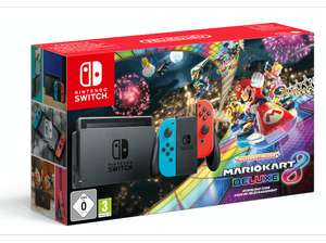 [Grensdeal] Nintendo Switch Mario Kart 8 Deluxe Bundle voor €299 @ Media Markt/Saturn.de