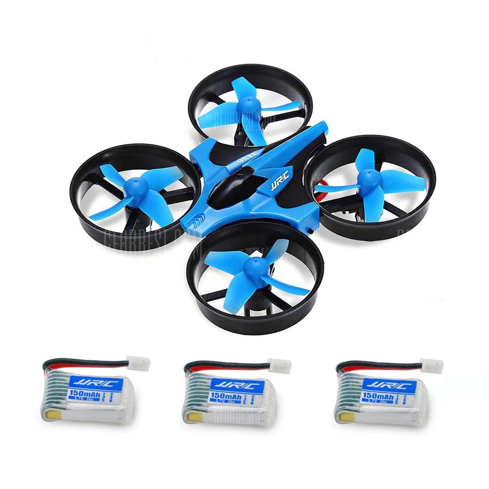 JJRC H36 Drone met code inclusief 3 gratis accu's @ Gearbest.com
