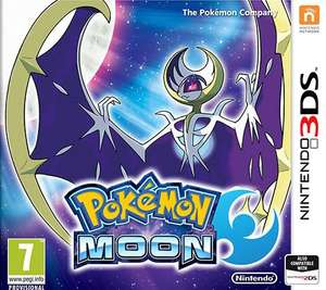 Pokémon Moon, Nintendo 3DS (XL) voor €26,99 @ Game-outlet.nl