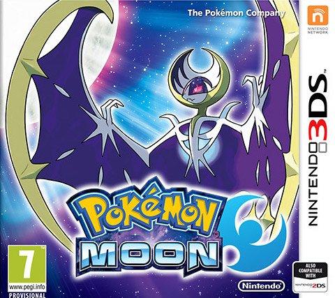 Pokémon Moon, Nintendo 3DS (XL) voor €26,99 @ Game-outlet.nl
