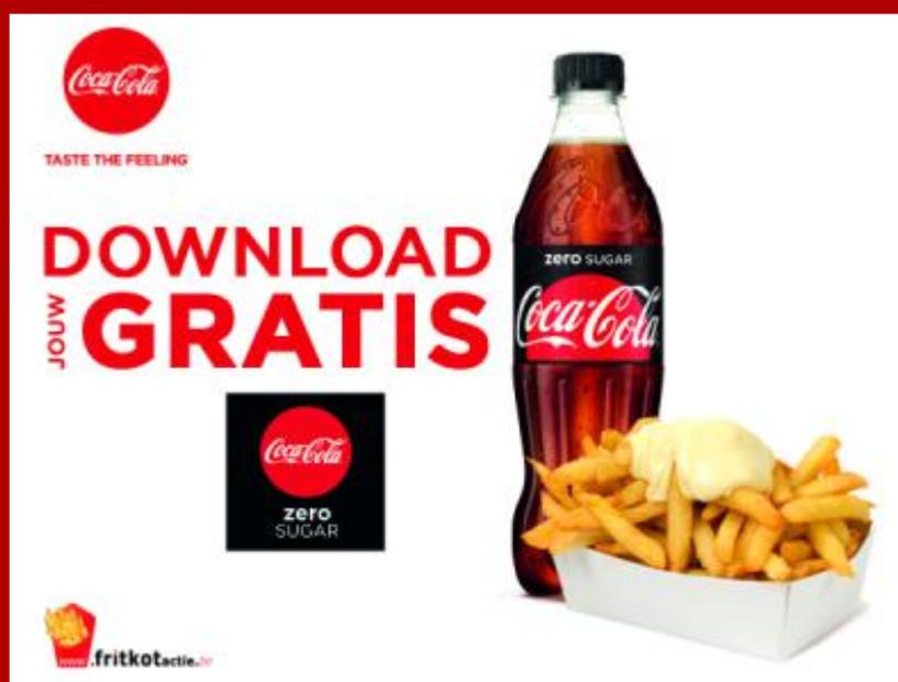[Grensdeal België] Gratis 0,5 L Coca Cola zero