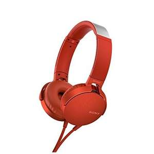 Sony MDR-XB550AP eXtra Bass on-ear koptelefoon Rood voor €25 @ EP