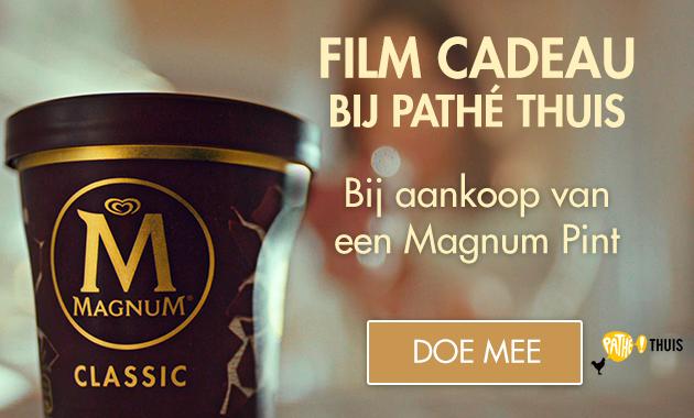 Gratis Pathé thuis film bij aankoop van 1 Magnum pint product