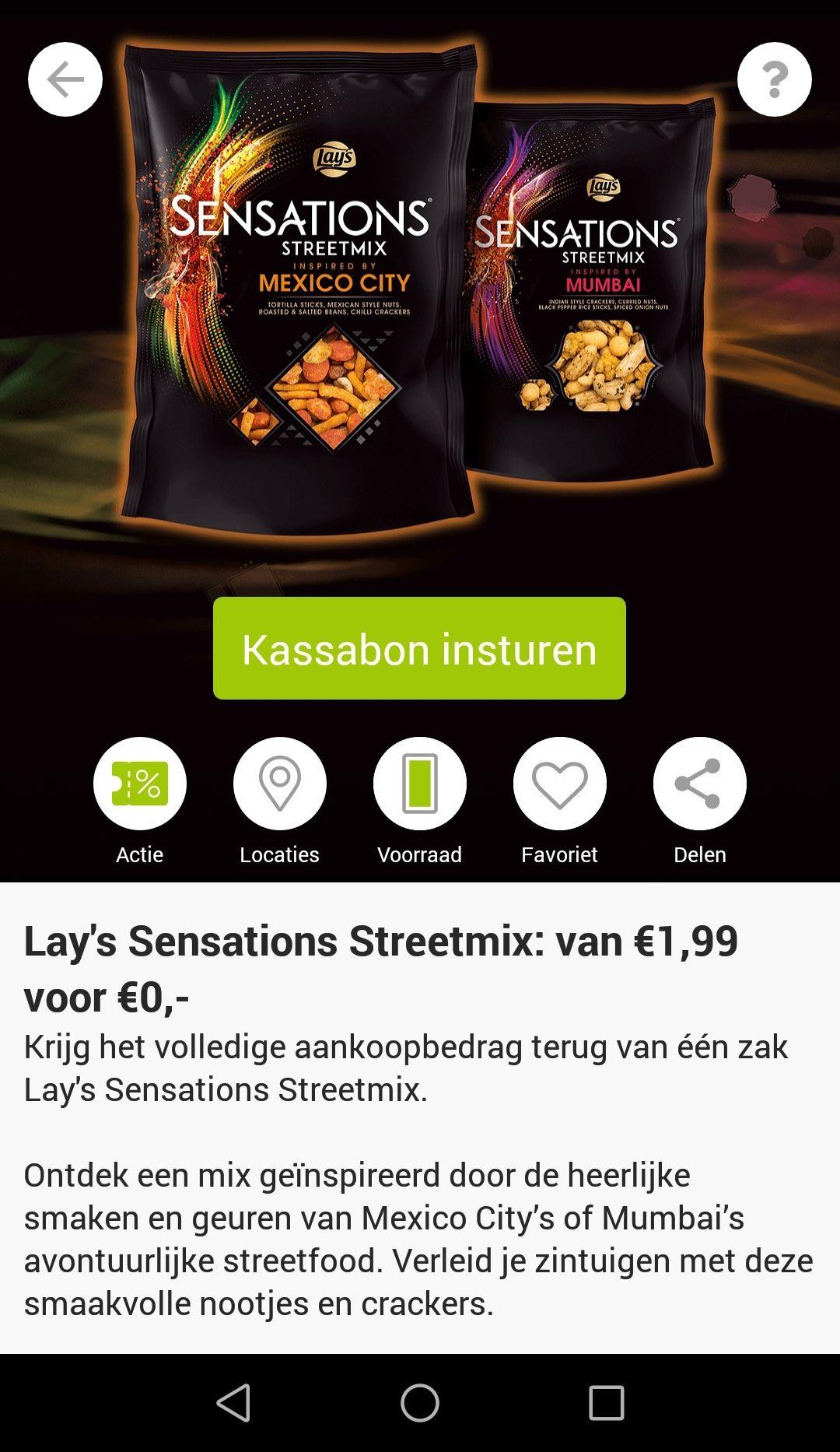 Sneak Preview scoupy met o.a. Gratis Lay's sensation streetmix