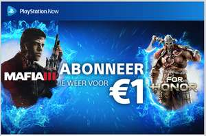 1 Maand PS Now voor €1 @ Playstation Store