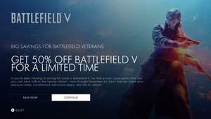 Battlefield™ V Deluxe Edition (Xbox One) met 50% korting