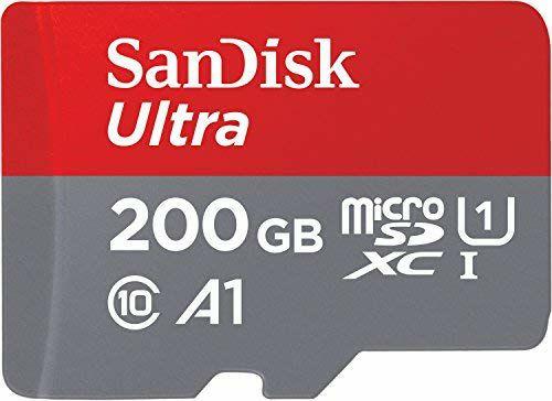 Sandisk 200GB MicroSD-kaart voor €29 @ Amazon.de