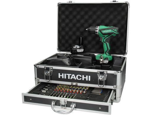 Hitachi Schroef-/Boormachine + Toebehoren - IBood