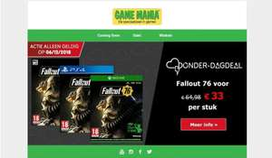 Fallout: 76 - PlayStation 4 & Xbox one @gamemania