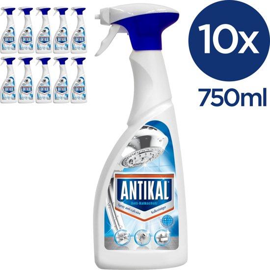 Antikal Spray Kalkreiniger (10x750ml) voor €12,05 @ Bol.com Plaza