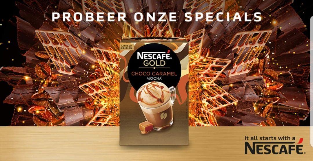 Vraag gratis 2 samples aan van NESCAFÉ Gold koffievariaties (via Facebook)